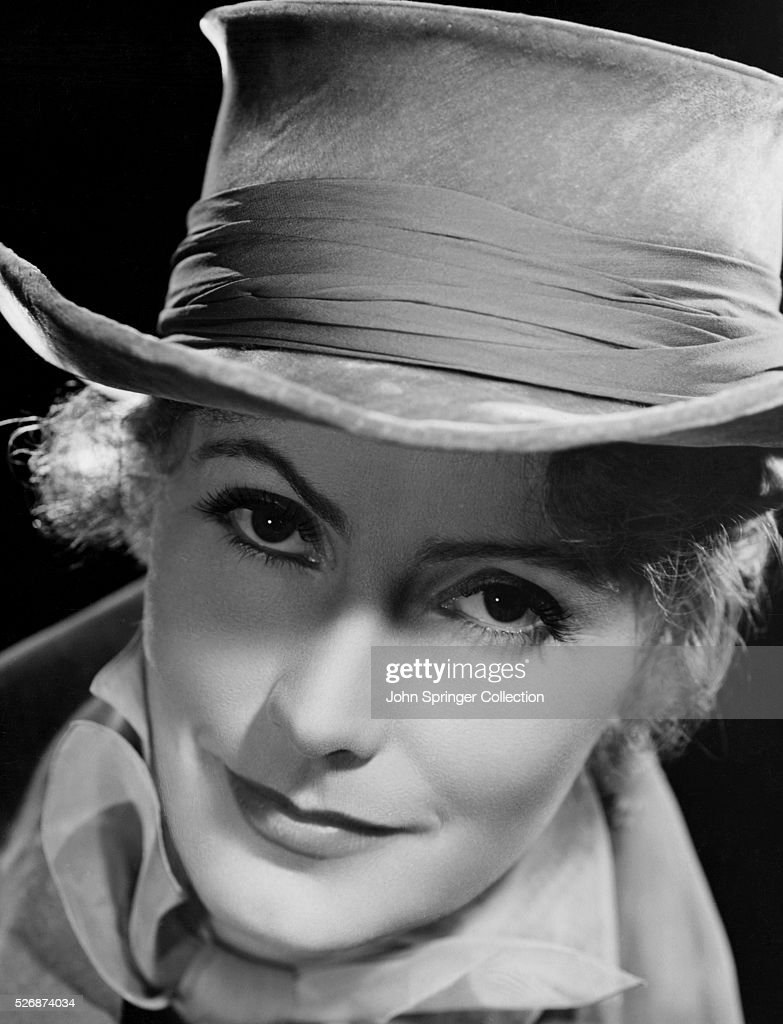 Actress Greta Garbo in Hat