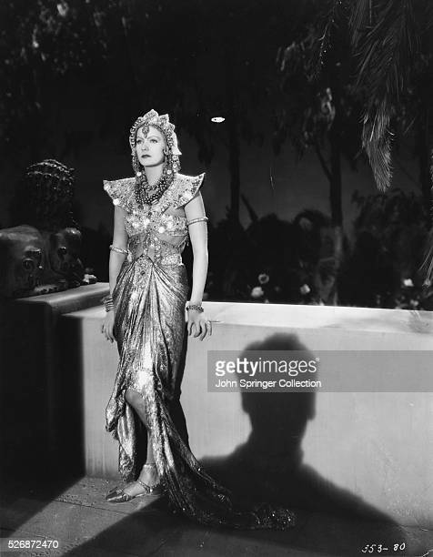 Actress Greta Garbo plays Mata Hari, the exotic dancer and German spy, in the 1931 film Mata Hari.