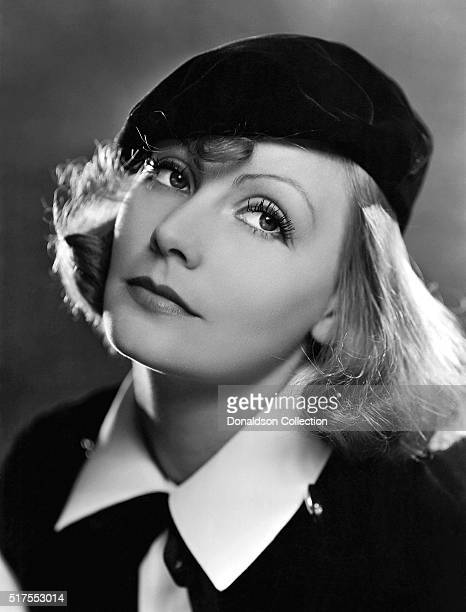 Actress Greta Garbo poses for a publicity photo for the MGM movie As You Desire Me which was released in 1932