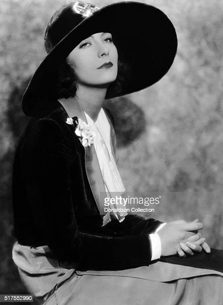 Actress Greta Garbo poses for a publicity photo for the MGM movie Love which was released in 1927