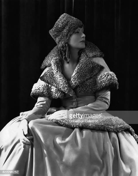 Actress Greta Garbo poses for a publicity still for the MGM film 'Romance' in 1930 in Los Angeles California