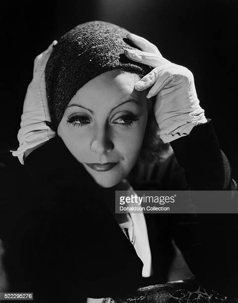Actress Greta Garbo poses for a publicity still for the MGM film 'Inspiration' in 1931 in Los Angeles, California.
