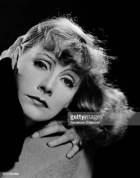 Actress Greta Garbo poses for a publicity still for the MGM film 'Susan Lenox ' in 1931 in Los Angeles California
