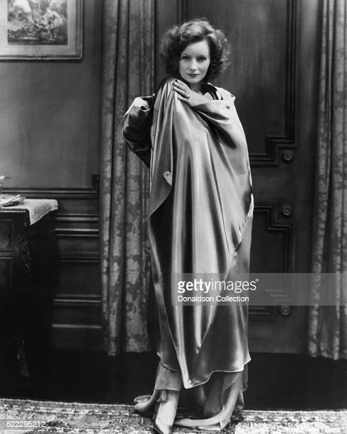 Actress Greta Garbo poses for a publicity still for the MGM film 'The Mysterious Lady' in 1928 in Los Angeles, California.