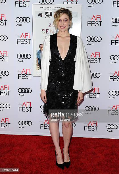 Actress Greta Gerwig attends a screening of '20th Century Women' at the 2016 AFI Fest at TCL Chinese Theatre on November 16 2016 in Hollywood...