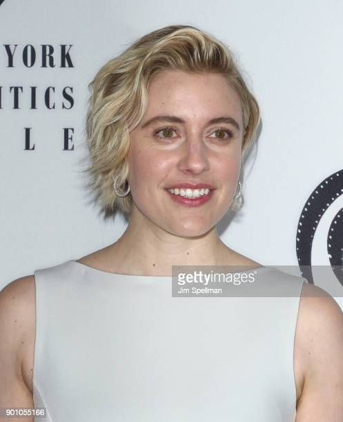 Actress Greta Gerwig attends the 2017 New York Film Critics Awards at TAO Downtown on January 3 2018 in New York City