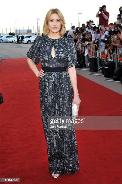 Actress Greta Gerwig attends the Arthur European premiere at Cineworld 02 Arena on April 19 2011 in London England