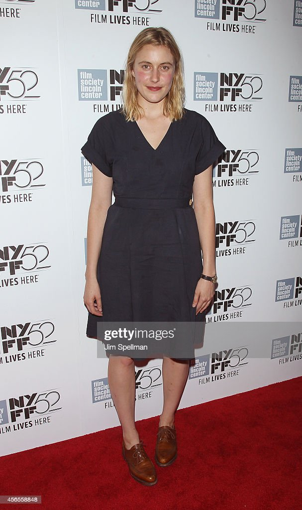 Actress Greta Gerwig attends the 'Heaven Knows What' Premiere during the 52nd New York Film Festival at Alice Tully Hall on October 2, 2014 in New York City.