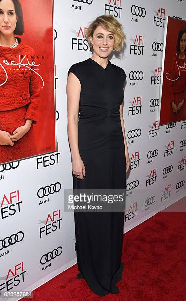 Actress Greta Gerwig attends the premiere of 'Jackie' at AFI Fest 2016 presented by Audi at The Chinese Theatre on November 14 2016 in Hollywood...