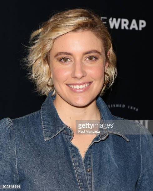 Actress Greta Gerwig attends TheWrap's 2018 'Women Whiskey And Wisdom' event celebrating women Oscar nominees at Teddy's at The Hollywood Rooselvelt...