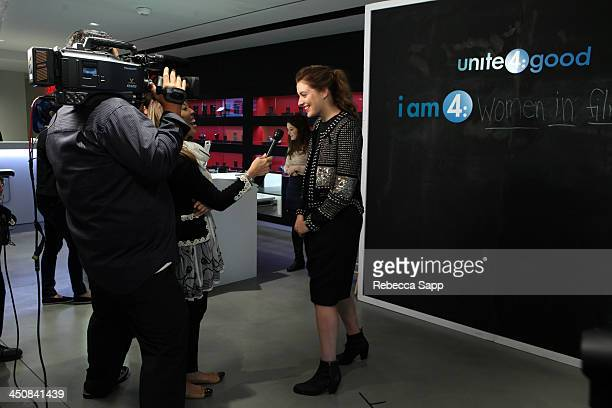 Actress Greta Gerwig attends Variety Awards Studio Day 1 at the Leica Gallery and Store on November 20 2013 in West Hollywood California