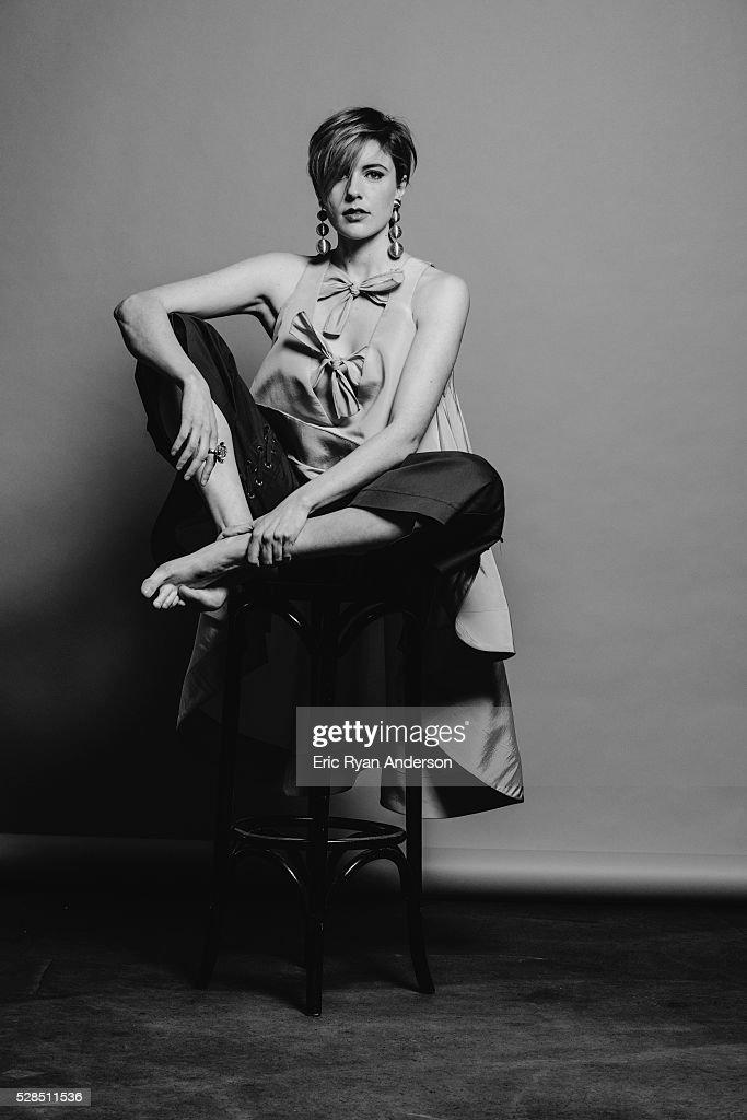 Greta Gerwig, Brooklyn Magazine, April 25, 2016 : News Photo