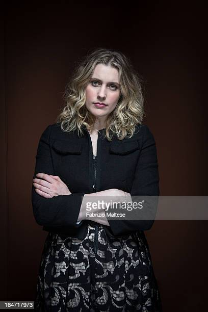 Actress Greta Gerwig is photographed for Self Assignment on February 15 2013 in Berlin Germany