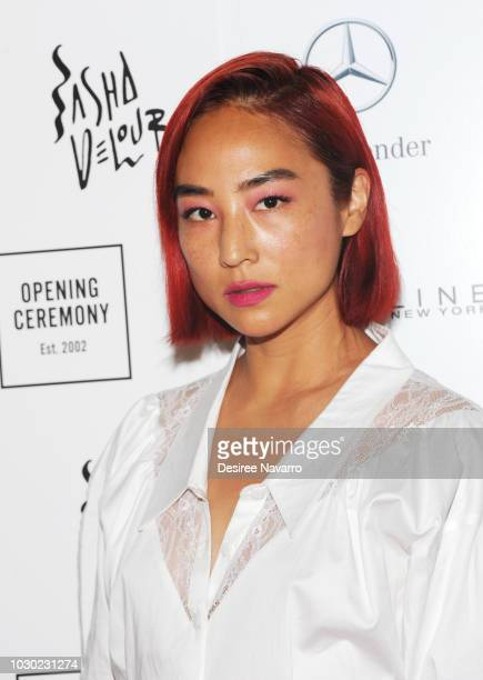 Actress Greta Lee attends Opening Ceremony September 2018 during New York Fashion Week at Le Poisson Rouge on September 9 2018 in New York City