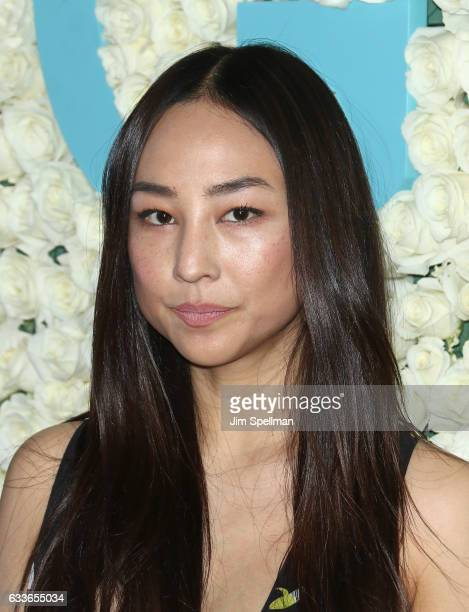 Actress Greta Lee attends the the New York premiere of the sixth and final season of Girls at Alice Tully Hall Lincoln Center on February 2 2017 in...