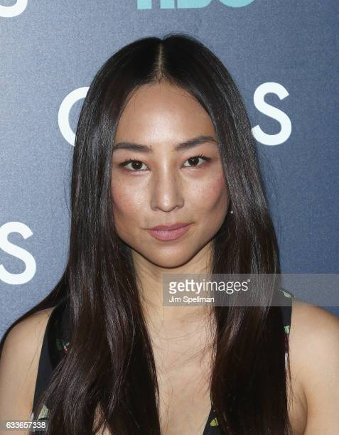 """Actress Greta Lee attends the the New York premiere of the sixth and final season of """"Girls"""" at Alice Tully Hall, Lincoln Center on February 2, 2017..."""