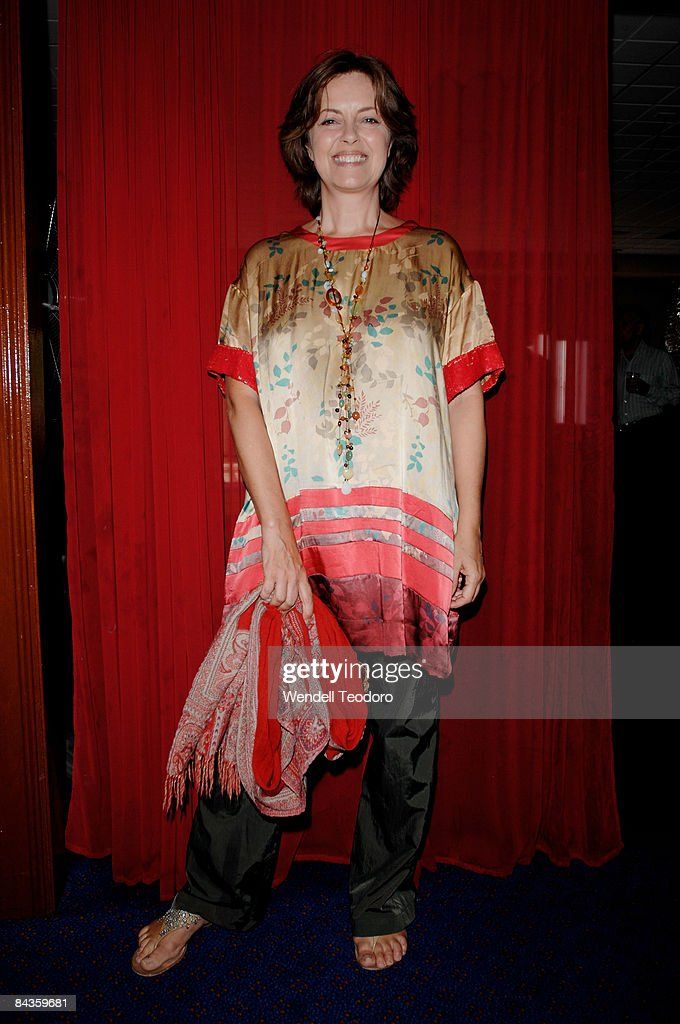 Actress Greta Scacchi arrives for the 2008 Sydney Theatre Awards at the Paddington RSL on January 19, 2009 in Sydney, Australia.