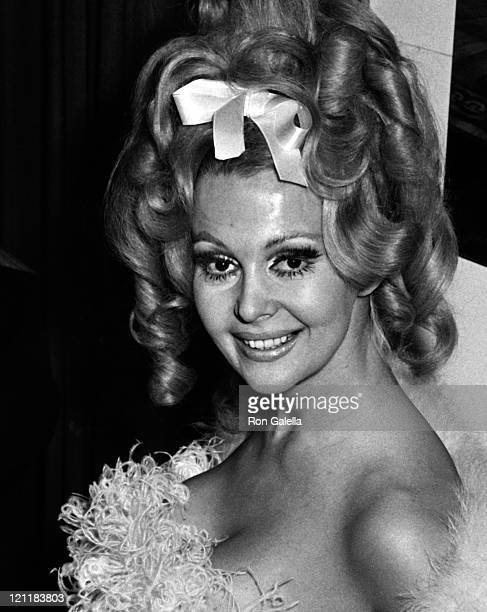 Actress Greta Thyssen attends the premiere party for Camelot on October 25 1967 at the Americana Hotel in New York City