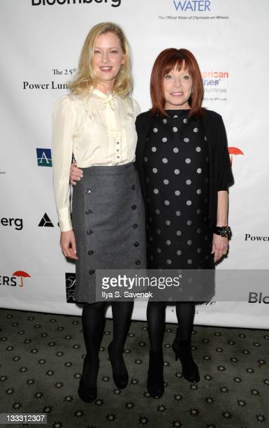 Actress Gretchen Mol and aclaimed cosmetic dermatologist Patricia Wexler attend the 25th Annual Power Lunch for Women at The Pierre Hotel on November...