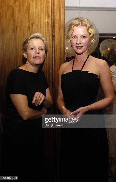 "Actress Gretchen Mol and director Mary Harron attend the dinner party for ""The Notorious Bettie Page"" during the 30th Annual Toronto International..."