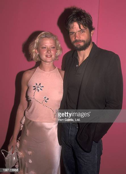 Actress Gretchen Mol and husband Tod Williams attend the Emanuelle Ungaro 35th Anniversary Party on September 5 2001 at The Armory in New York City...