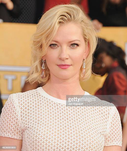 Actress Gretchen Mol arrives at the 20th Annual Screen Actors Guild Awards at The Shrine Auditorium on January 18 2014 in Los Angeles California