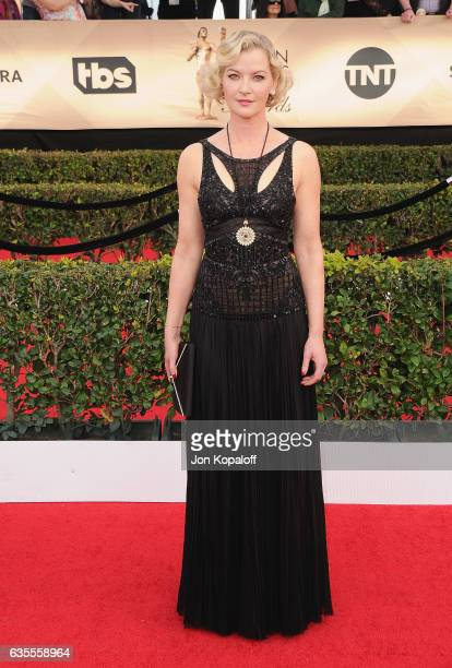 Actress Gretchen Mol arrives at the 23rd Annual Screen Actors Guild Awards at The Shrine Expo Hall on January 29 2017 in Los Angeles California