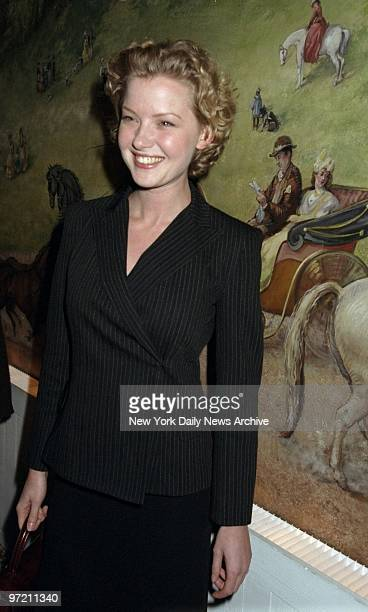 Actress Gretchen Mol attending the National Board of Review of Motion Pictures Awards