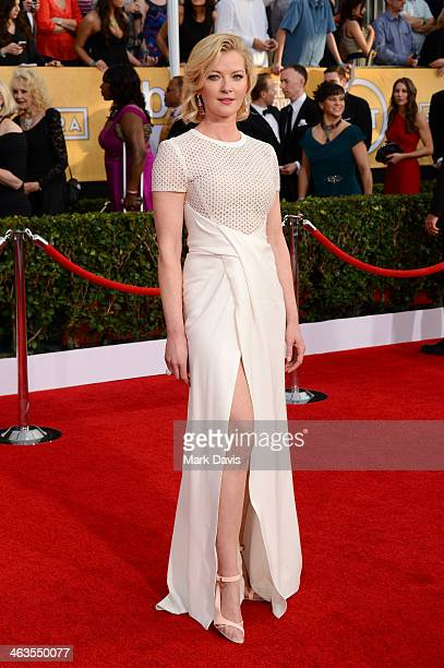 Actress Gretchen Mol attends 20th Annual Screen Actors Guild Awards at The Shrine Auditorium on January 18 2014 in Los Angeles California