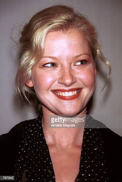 Actress Gretchen Mol attends a performance of the 'Pied Piper' to benefit the American Ballet Theatre January 29 2001 in New York City