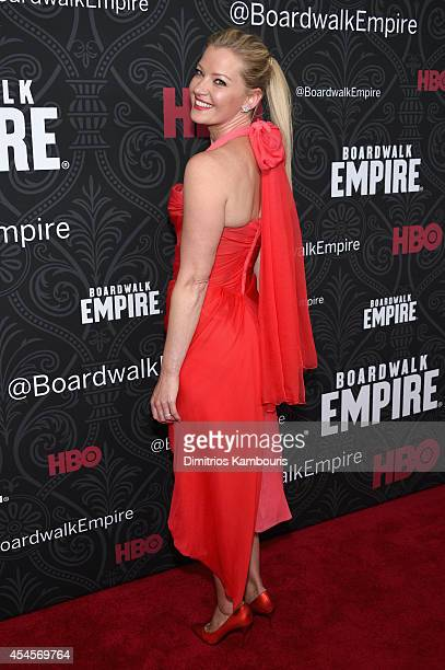 Actress Gretchen Mol attends HBO's 'Boardwalk Empire' Season Five New York Premiere at Ziegfeld Theatre on September 3 2014 in New York City