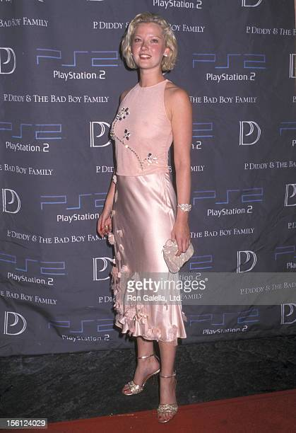 Actress Gretchen Mol attends Playstation 2's Party for Sean P Diddy's New Album Release 'P Diddy the Bad Boy Family The Saga Continues' on September...