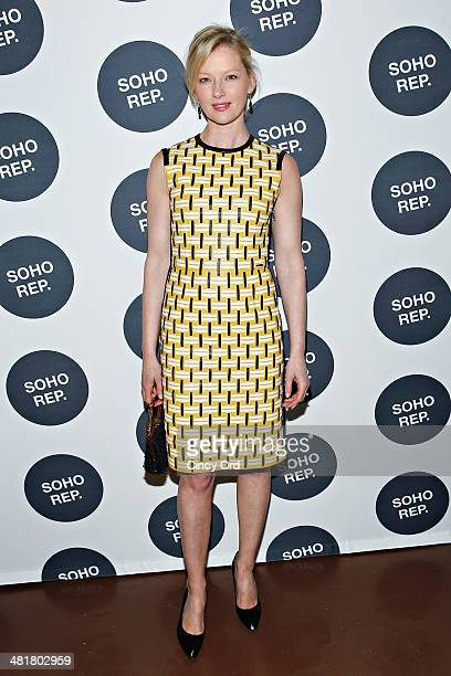 Actress Gretchen Mol attends Soho Rep's 2014 Spring Fete at The Angel Orensanz Foundation on March 31 2014 in New York City