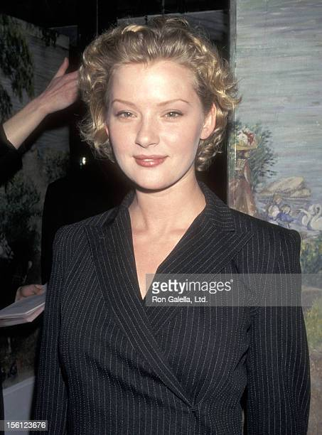 Actress Gretchen Mol attends the 1998 National Board of Review Gala on February 9 1998 at Tavern on the Green in New York City New York