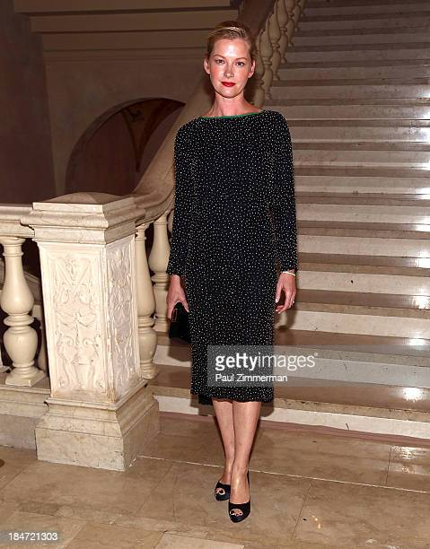 Actress Gretchen Mol attends the 2013 Skin Cancer Foundation gala at The Plaza Hotel on October 15 2013 in New York City