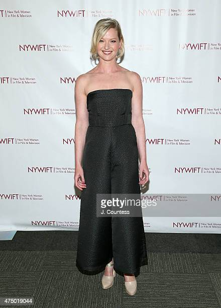 Actress Gretchen Mol attends the 2015 New York Women In Film Television Designing Women Awards Gala at Scholastic Auditorium on May 28 2015 in New...