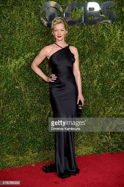 Actress Gretchen Mol attends the 2015 Tony Awards at Radio City Music Hall on June 7 2015 in New York City