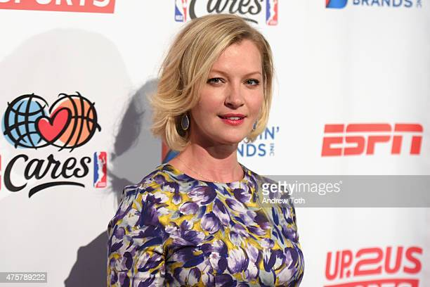 Actress Gretchen Mol attends the 2015 Up2Us Sports Gala at The IAC Building on June 3 2015 in New York City