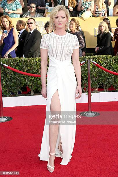 Actress Gretchen Mol attends the 20th Annual Screen Actors Guild Awards at The Shrine Auditorium on January 18 2014 in Los Angeles California
