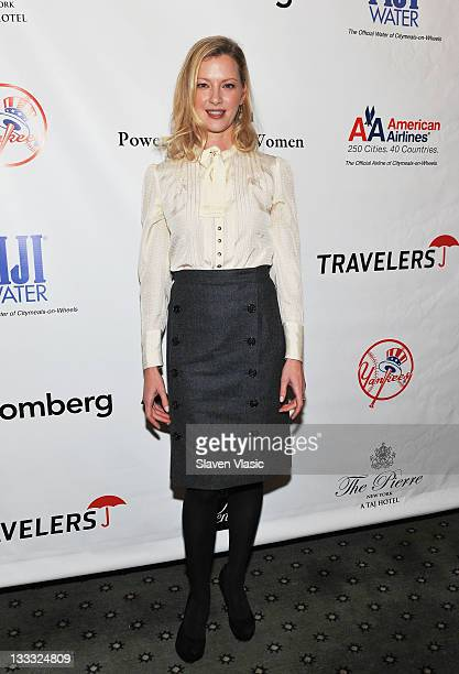 Actress Gretchen Mol attends the 25th Annual Power Lunch for Women at The Pierre Hotel on November 18 2011 in New York City