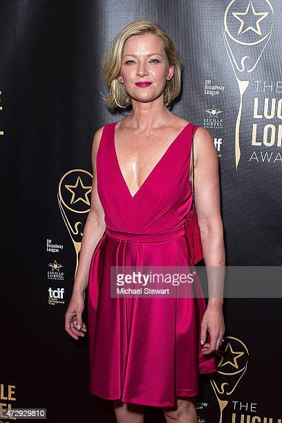Actress Gretchen Mol attends the 30th Annual Lucille Lortel Awards at NYU Skirball Center on May 10 2015 in New York City