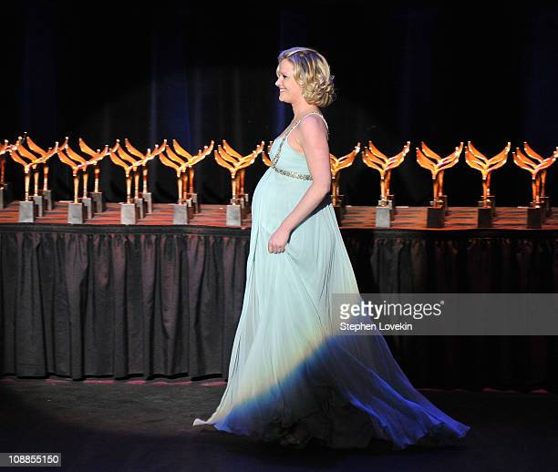 Actress Gretchen Mol attends the 63rd annual Writers Guild Awards at the AXA Equitable Center on February 5 2011 in New York United States