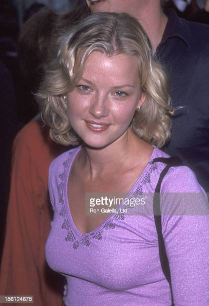 Actress Gretchen Mol attends 'The Adventures of Sebastian Cole' New York City Premiere on August 4 1999 at Loews Village VII in New York City New York