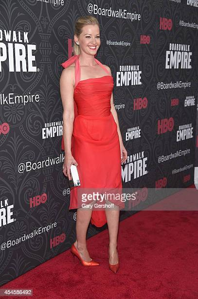 Actress Gretchen Mol attends the 'Boardwalk Empire' Season 5 Premiere at Ziegfeld Theatre on September 3 2014 in New York City