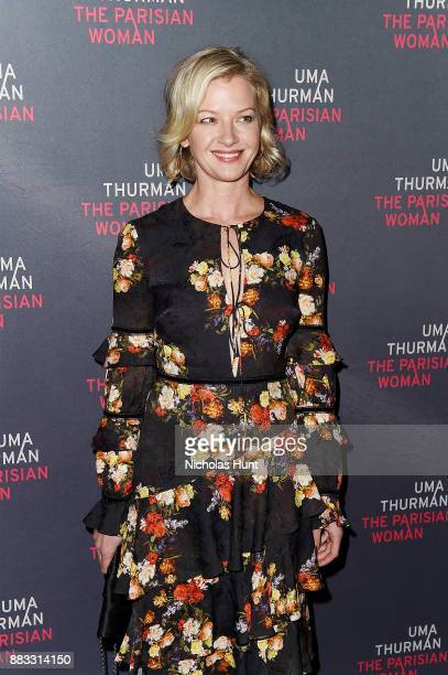 Actress Gretchen Mol attends the broadway opening night of The Parisian Woman at The Hudson Theatre on November 30 2017 in New York City