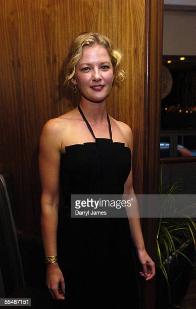 "Actress Gretchen Mol attends the dinner party for ""The Notorious Bettie Page"" during the 30th Annual Toronto International Film Festival on September..."