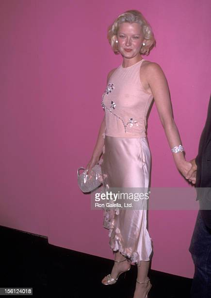 Actress Gretchen Mol attends the Emanuelle Ungaro 35th Anniversary Party on September 5 2001 at The Armory in New York City New York