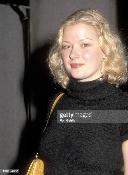 Actress Gretchen Mol attends the Fifth Annual GQ Men of the Year Awards on October 26 2000 at Beacon Theater in New York City New York