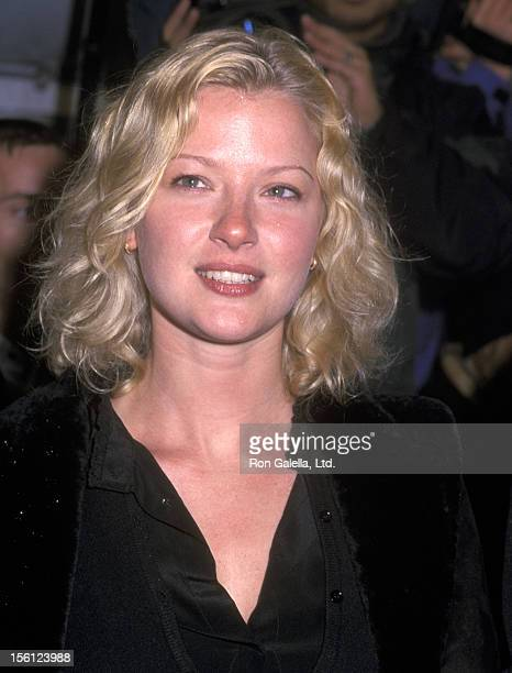 Actress Gretchen Mol attends the 'Hannibal' New York City Premiere on February 5 2001 at Ziegfeld Theater in New York City New York