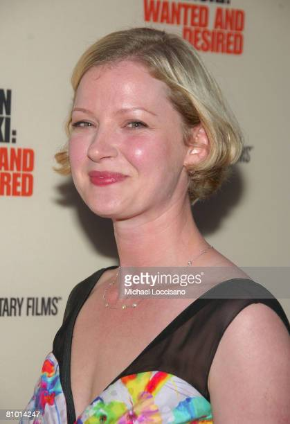 Actress Gretchen Mol attends the HBO Documentaries premiere Of Roman Polanski Wanted And Desired at The Paris Thatre in New York City on May 6 2008